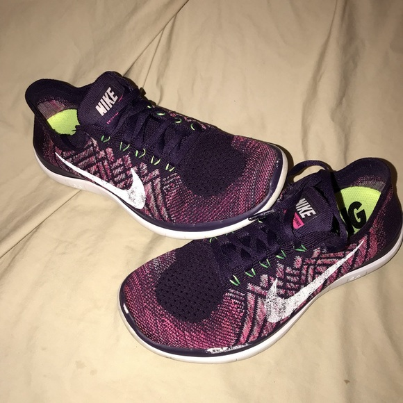 Nike Shoes | Womens Free Run 40 Flyknit Multicolor | Poshmark